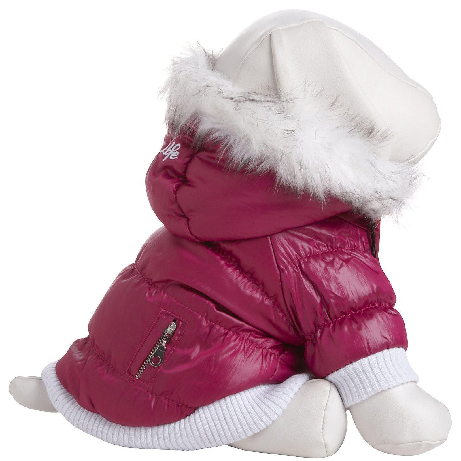 red dog parka coat