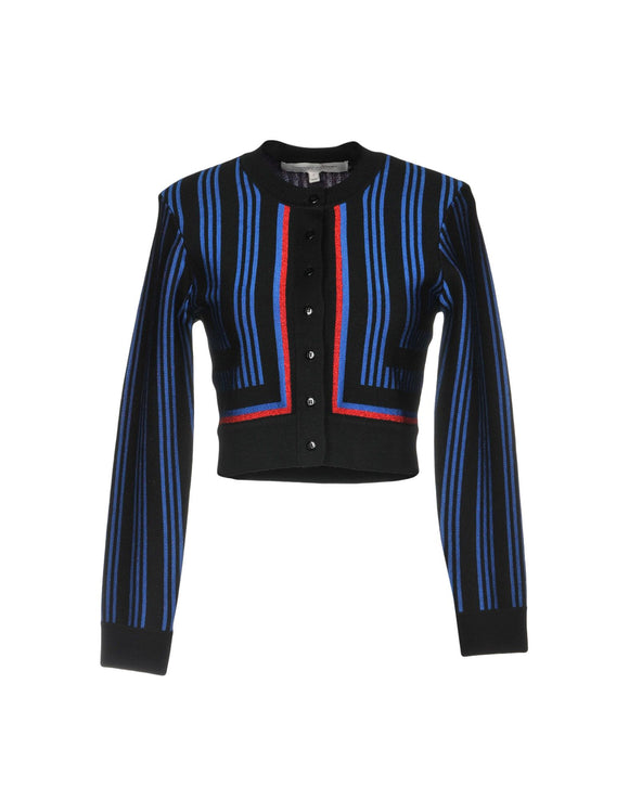 CAROLINA HERRERA Striped Cardigan - Mishon's Galleria