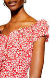 Fun and Flirty Ditsy Floral Mini Dress - Mishon's Galleria