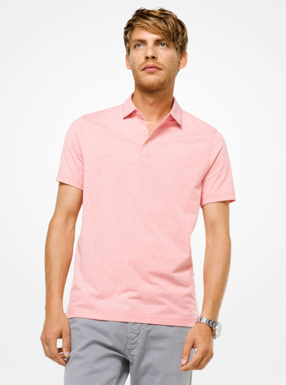 MICHAEL KORS Jersey Polo Shirt - Mishon's Galleria