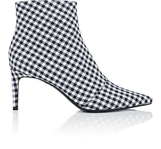 RAG & BONE Beha Gingham Ankle Boot - Mishon's Galleria