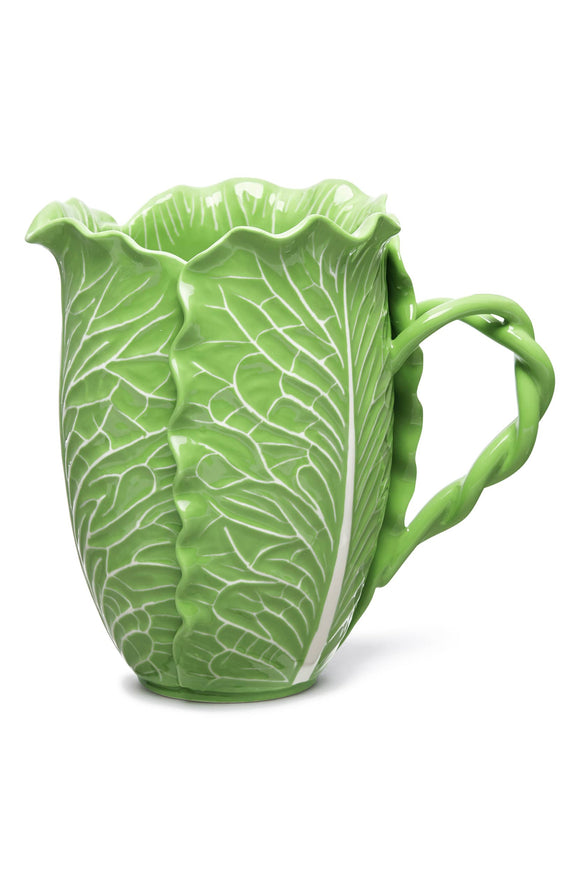 TORY BURCH LETTUCE WARE PITCHER - Mishon's Galleria