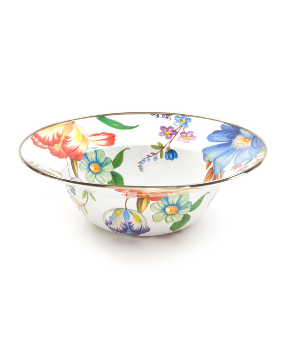 MacKenzie-Childs FLOWER MARKET Serving Bowl - Mishon's Galleria