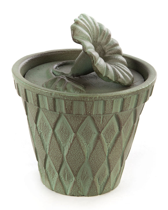 MacKenzie-Childs MORNING GLORY Citronella Candle - Mishon's Galleria