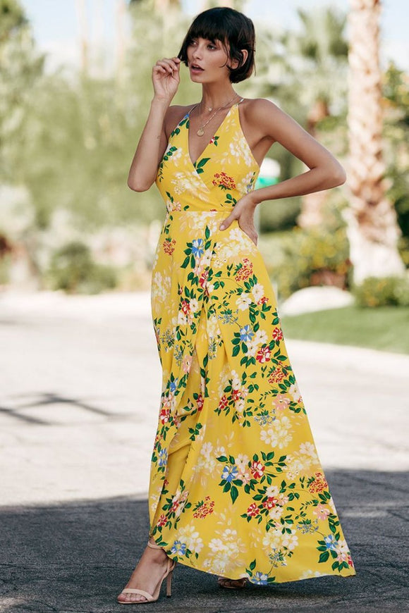 YUMI KIM Rush Hour Silk Maxi Dress - Mishon's Galleria