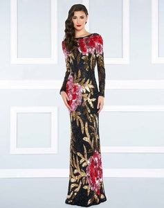 SEQUIN INFUSED MAC DUGGAL Evening Gown - Mishon's Galleria