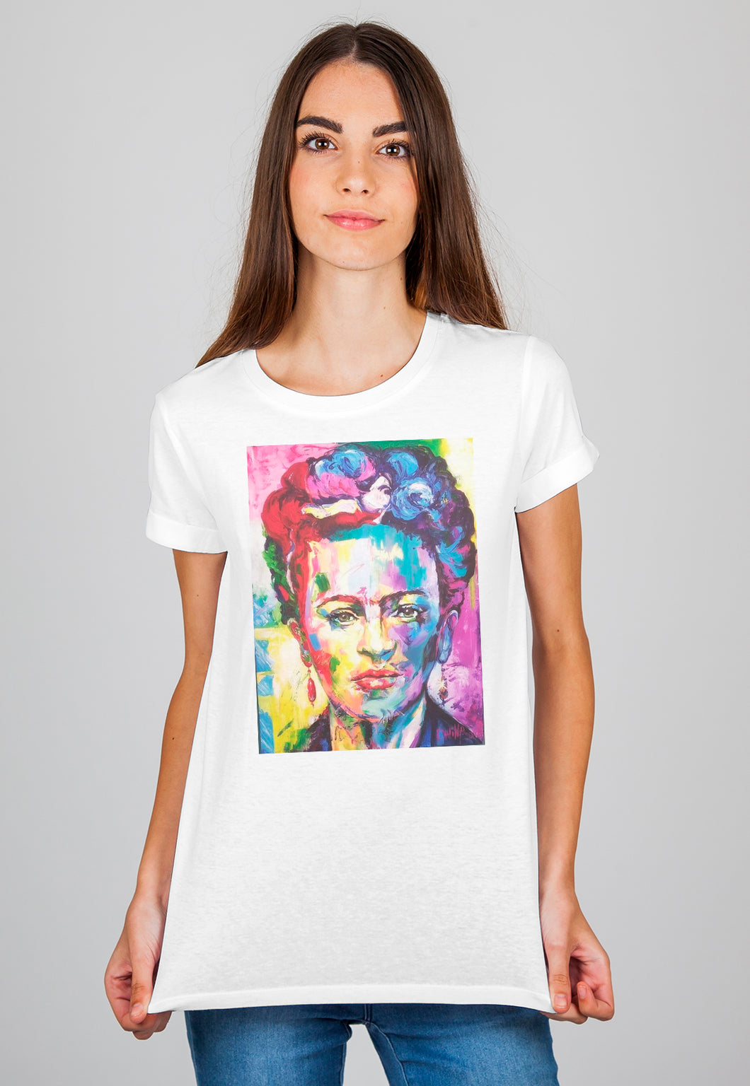 Camiseta Feminina Estampada Mirat - Frida Art