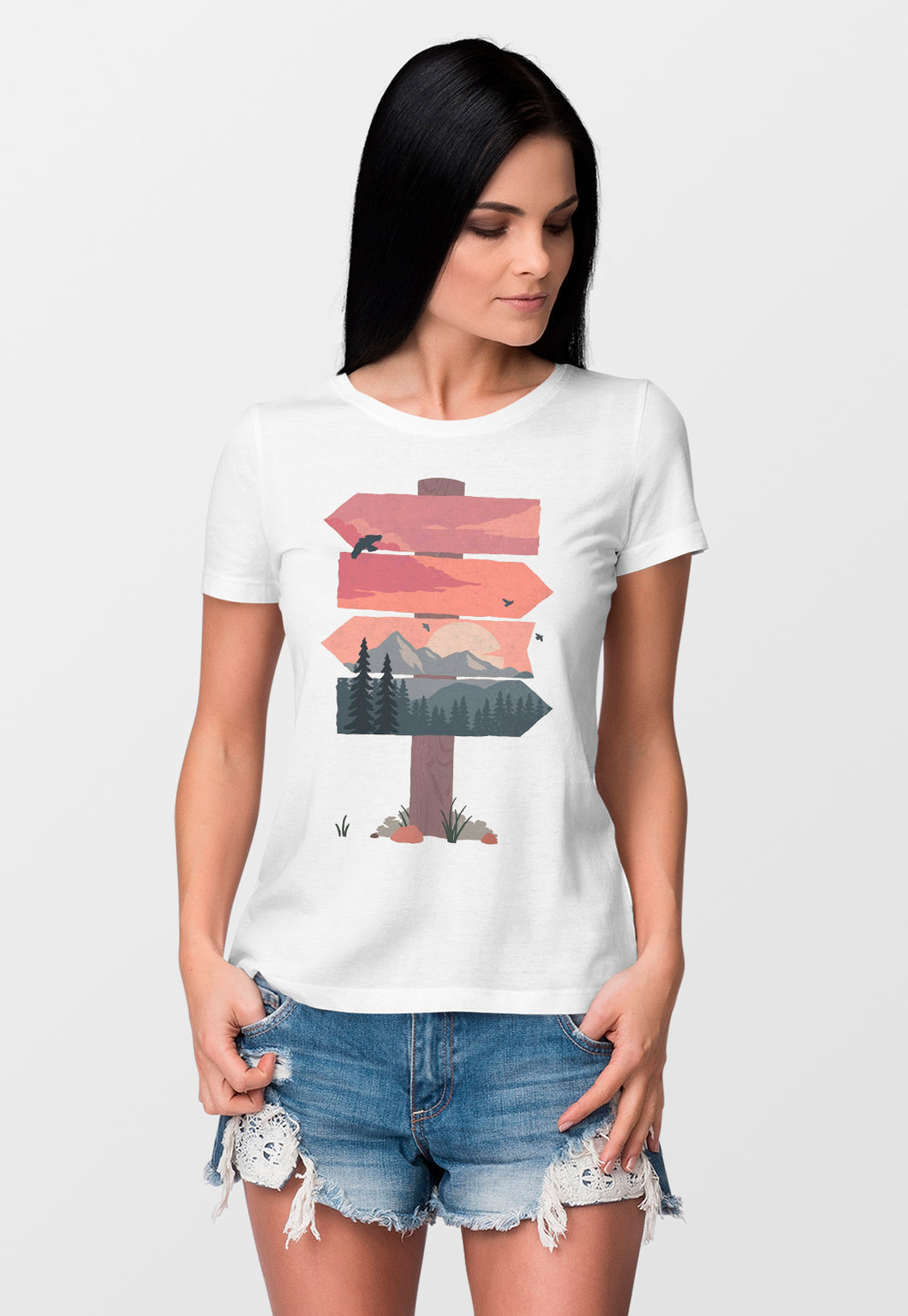 Camiseta Feminina Estampada Mirat - Ways