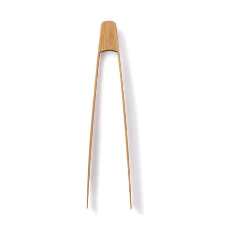 Organic Bamboo Tongs