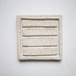 Square Ceramic Soap Dish