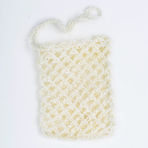 Woven Agave Soap Pouch