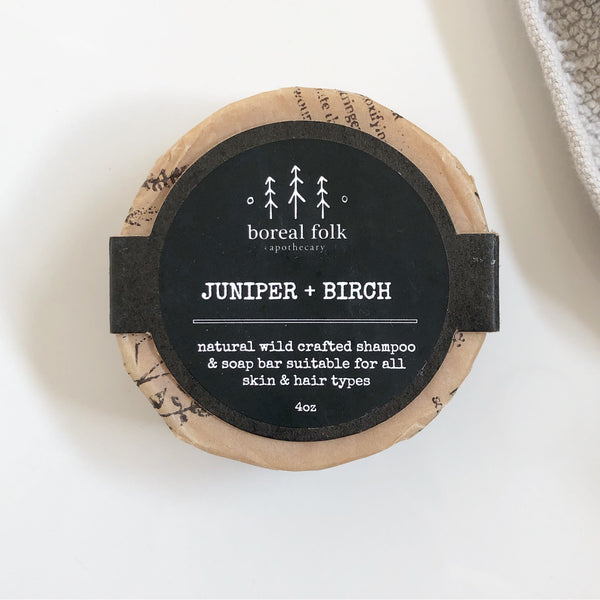 Juniper + Birch Body and Hair Bar