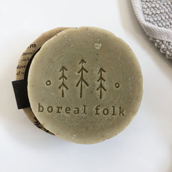 Boreal Folk Nettle + Mint Body and Hair Soap Bar