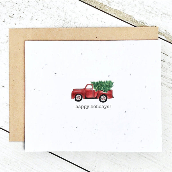 Plantable Christmas Cards