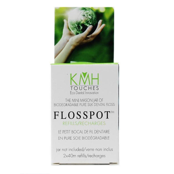 Flosspot Zero Waste Biodegradable Floss Refills