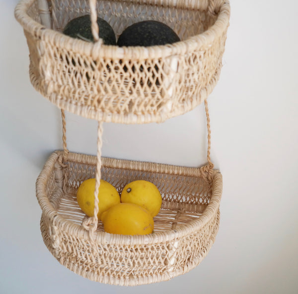 Half Moon Tiered Hanging Basket