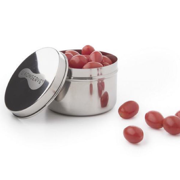 big mini stainless steel food storage container