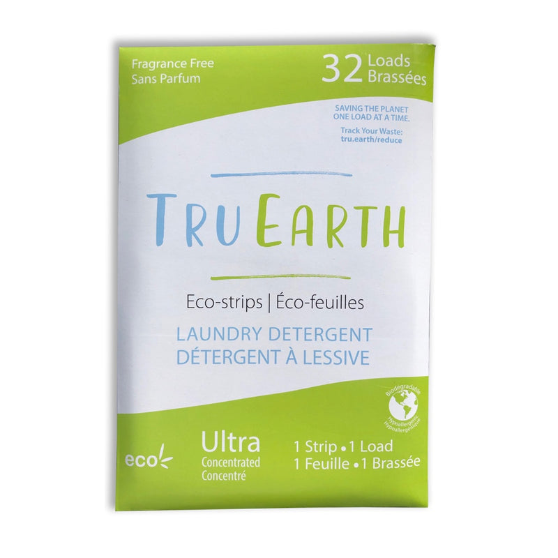 tru earth fragrance free laundry strips