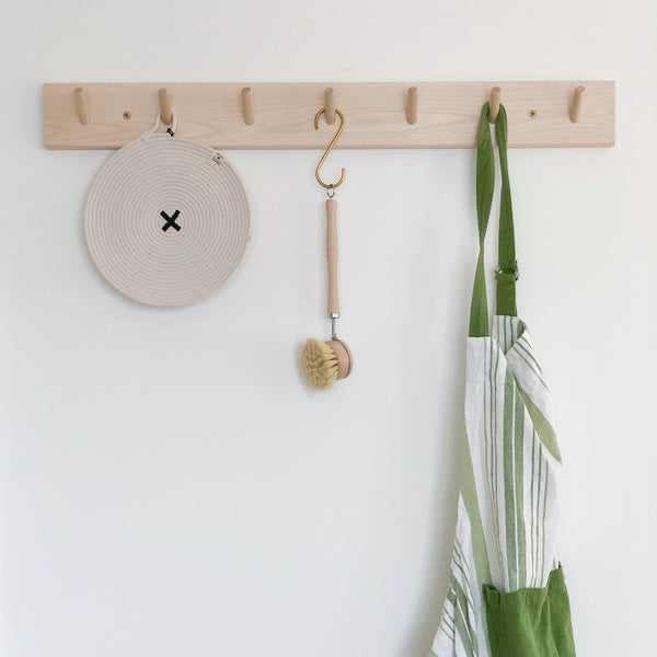 Birch Peg Rack (various sizes)