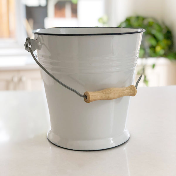 Enamel Bucket