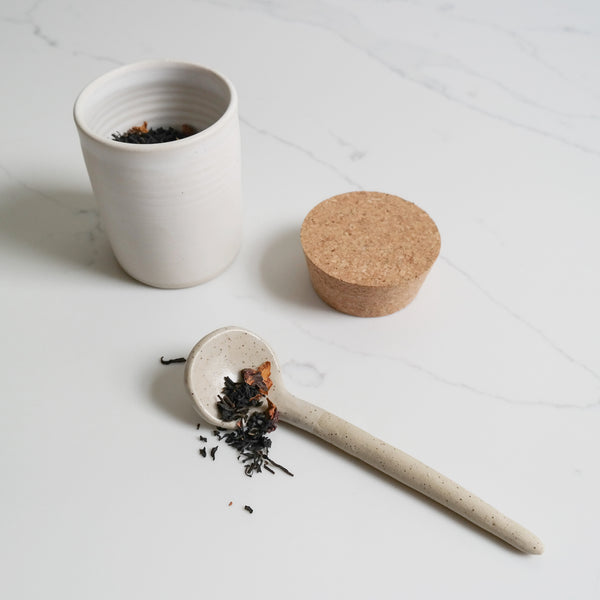 Canister/Cup with Cork Lid