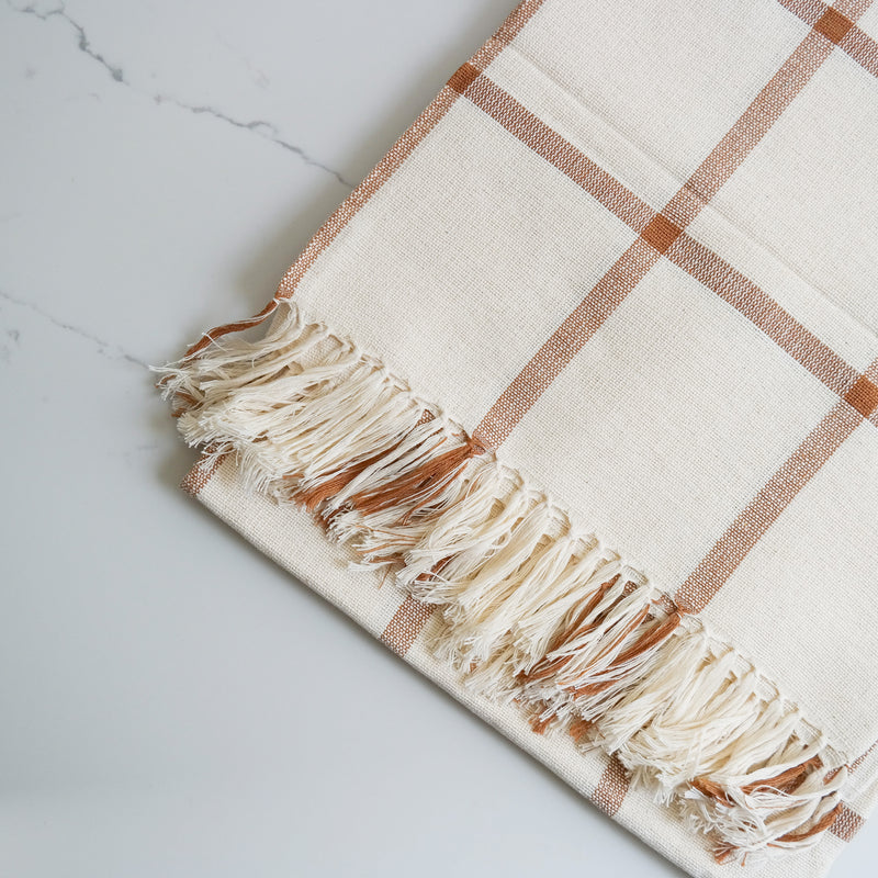 Handwoven Cotton Throw