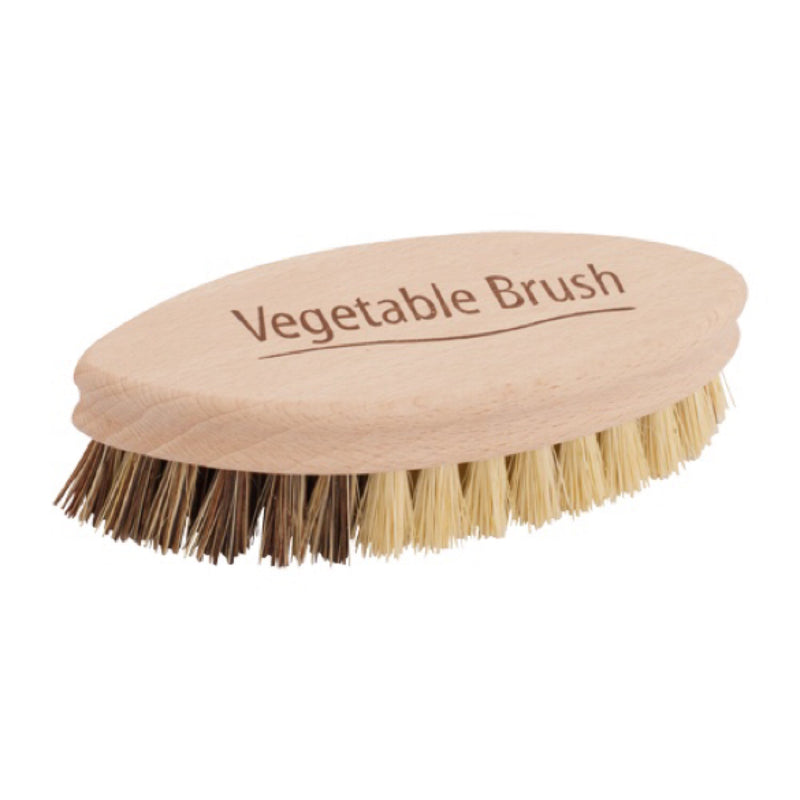 redecker wooden vegan vegetable brush