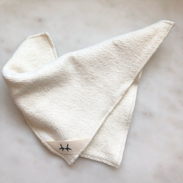 Hemp + Organic Cotton Face Cloth