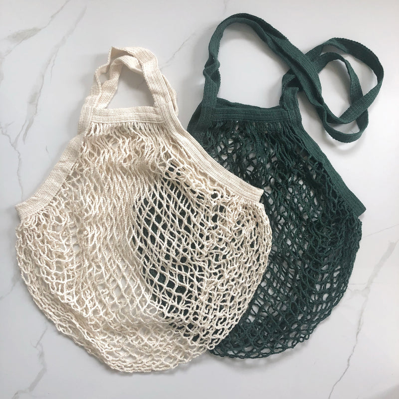 Organic Cotton French Market Net Tote