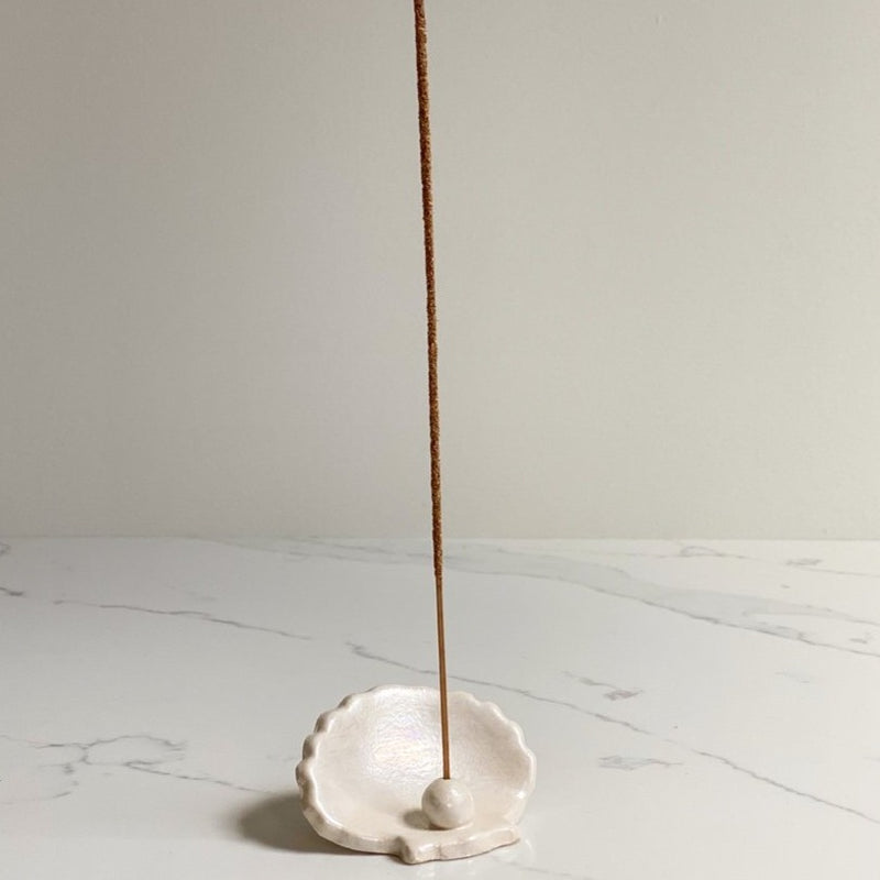 Pearl Incense Holder