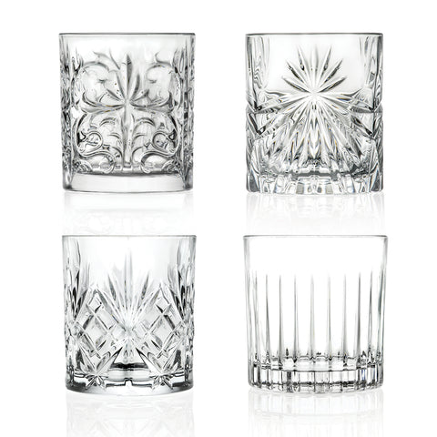 SET 4 TUMBLER MIXOLOGY