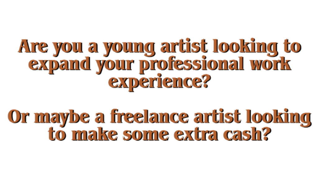work experience for artists TST