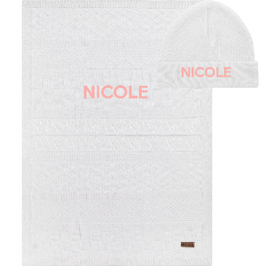 Set Prima Coccola 100% Organic Cotton - With your name