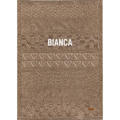 100% Organic Cotton Blanket - With your name