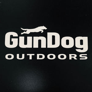 GDO Vinyl Decal White