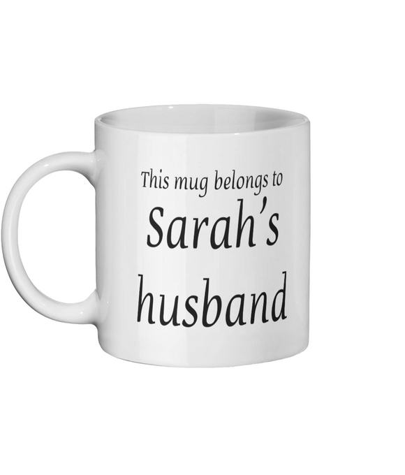 PERSONALISE MY COFFEE Ceramic Mug 11oz