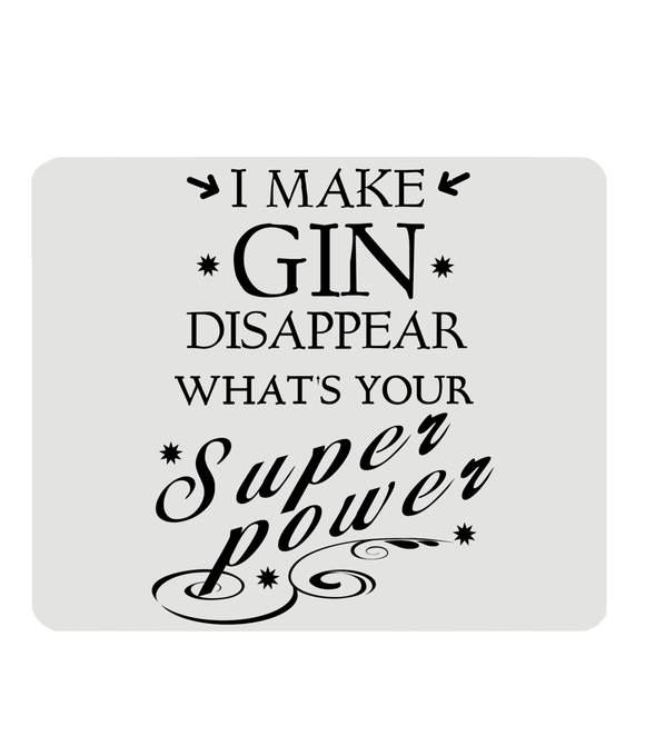GIN SUPERPOWER Mousemat