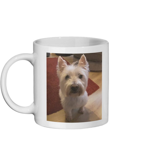 PERSONALISE ME PHOTO PAWPRINTS Ceramic Mug 11oz