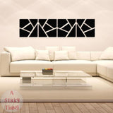 Super Deal 3D wall stickers DIY 3D Acrylic Mirror Decal Wall Sticker Home Decor Removable