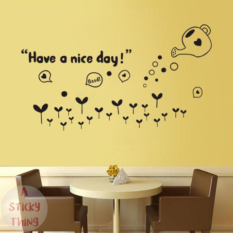 Wall Stickers-Wall Art-Giant Wall Stickers–A Sticky Thing – Tagged ...