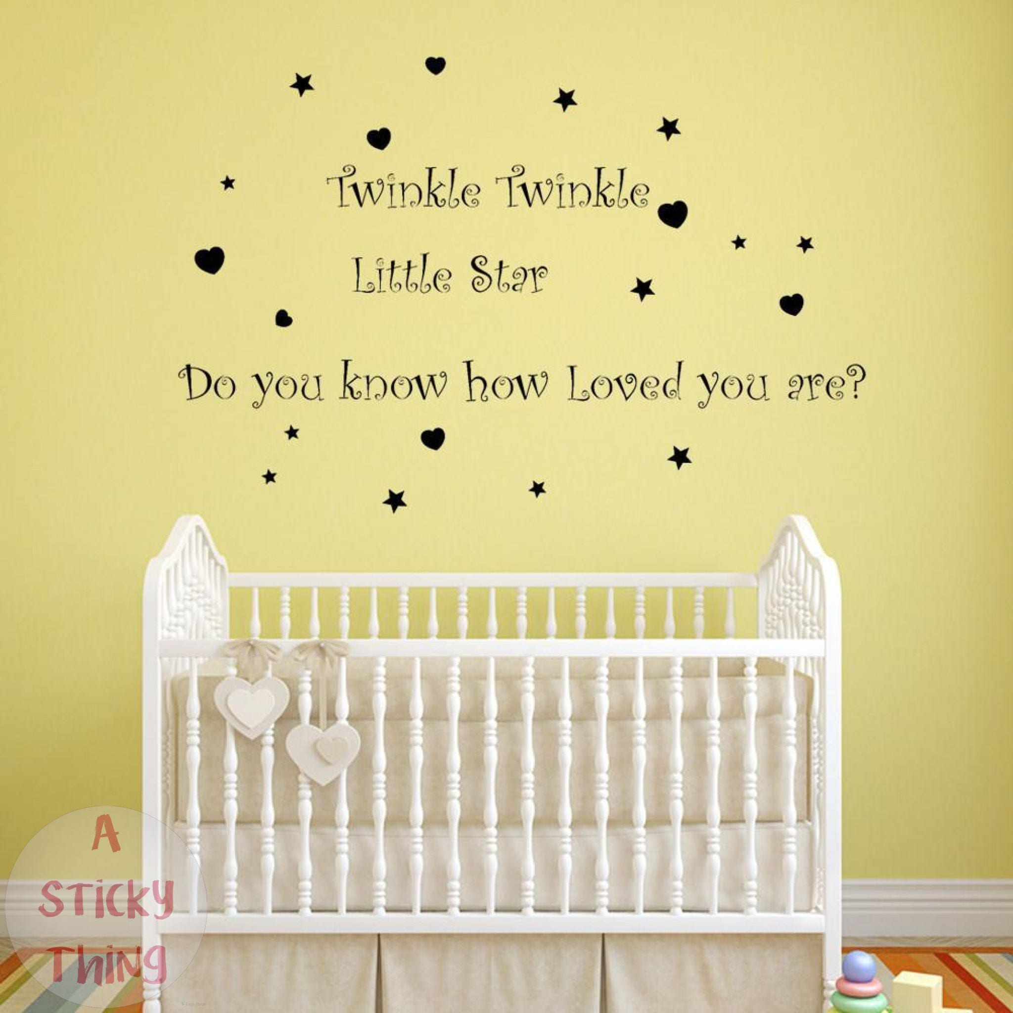 Contemporary Ferm Living Wall Stickers Stars Vignette - Wall Art ...