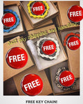 FREE* Key Chain! 🆓 (Limit 1 per order)