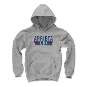 Jake Arrieta Kids Youth Hoodie | 500 LEVEL