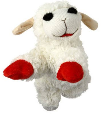 "Multipet Lamb Chop 10"" (Pack of 3)"