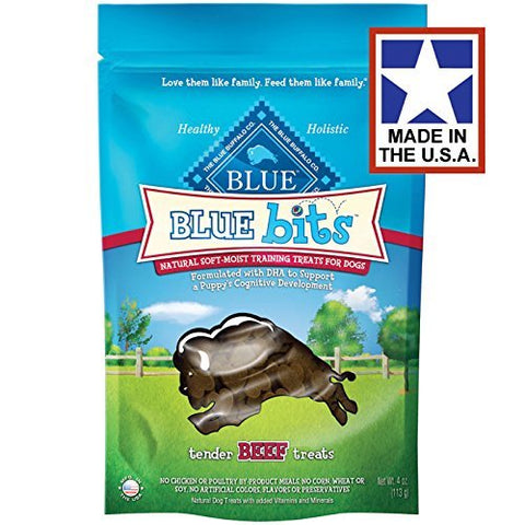 Blue Buffalo Blue Bits Beef Dog Training Treats, 8 oz.