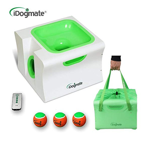 IDOGMATE Dog Ball Launcher Tennis Ball Launcher Automatic Dog Ball Thrower for Dogs