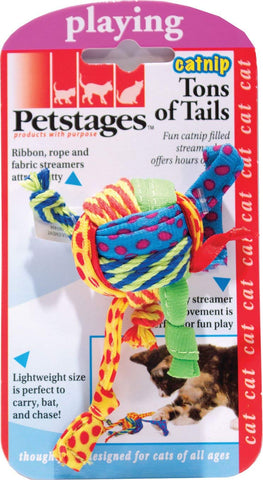 Petstages Tons of Tails Catnip Toy For Cats