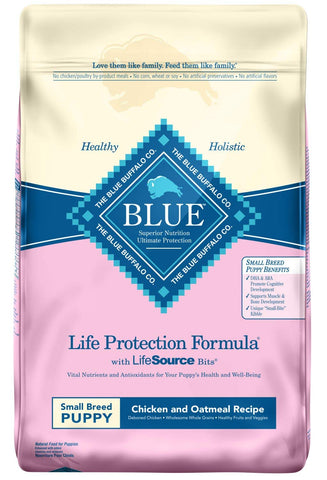 Blue Buffalo Life Protection Formula Natural Puppy Small Breed Dry Dog Food