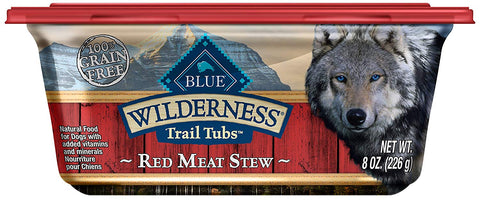 Blue Buffalo BLUE Wilderness Trail Tubs Stew High Protein Grain Free Wet Dog Food