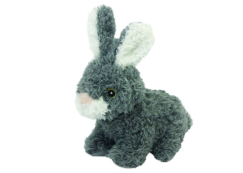 Multipet's Look Who's Talking Plush Talking Rabbit Dog Toy, 6-Inch
